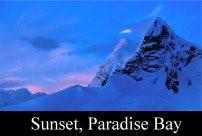 Sunset, Paradise Bay