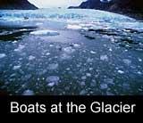 Boats and Glacier